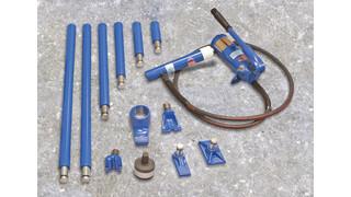 Speed-Midget 4-ton auto body repair sets