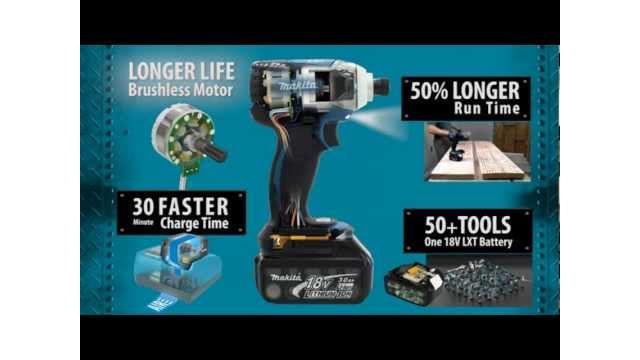 Makita LXT Brushless Tools