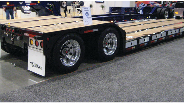 35-Ton SRG Double Drop Trailer