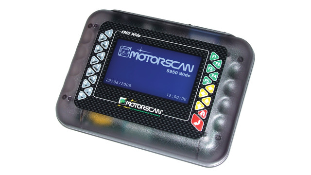 Motorcycle diagnostic scan tool