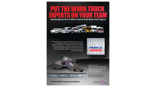 Fras-Le introduces new work truck and fleet disc brake program