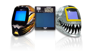 Vision and Python Welding Helmets