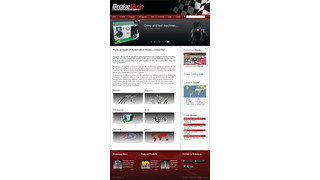 BrakeQuip interactive website