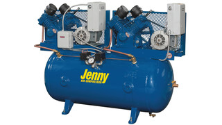Single- and Two-Stage Duplex Compressors