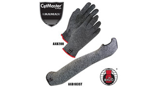 CutMaster Aramax and Aramax XT Series Cut Resistant Sleeves and Gloves