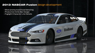 Ford Racing unveils updates to 2013 NASCAR Sprint Cup car