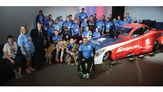 Snap-on honors Wounded Warriors; hosts Soldier Ride at headquarters