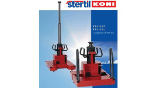 Free-Standing Rolling Pit Jacks No. FPJ-150-F and No. FPJ-150-U