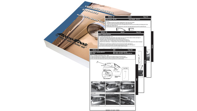 Cloud-Based Digital Format Car Opening Manual
