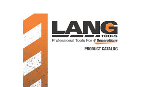 2012 Lang Tools Product Catalog