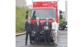 First Kenworth K370 cabover goes to Coca-Cola Refreshments