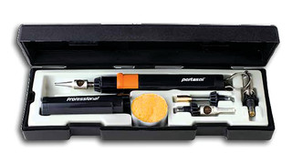 Professional Multi-Function Cordless Gas Soldering Iron Kit No. P-1K