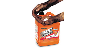 Fast Orange hand cleaner with microgel