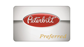 PACCAR Parts rewards Peterbilt Preferred loyalty card holders