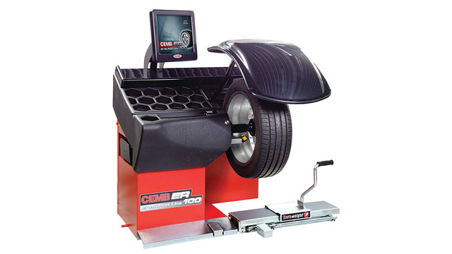 Wheel Balancing and Diagnostic Center No. ER100