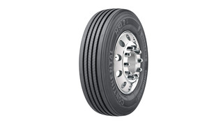 Eco Plus radial truck tire No. HSL2
