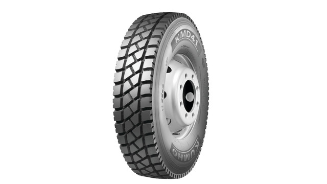 New Kumho tires medium commercial truck tire released