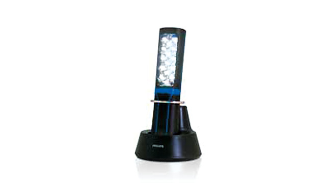 Rechargeable LED worklamp
