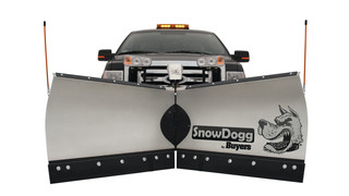 SnowDogg VMD series medium-duty V-plow