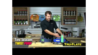 Tru-Flate tire sealant system video