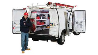 Weather Guard profession-specific van storage packages
