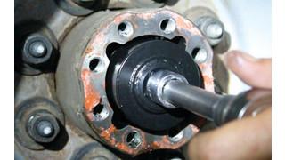 Bearing lock nut tool, No. 28010