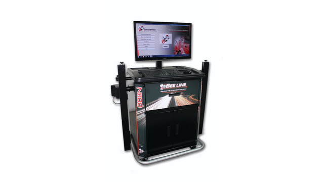 LC7500 wheel alignment system