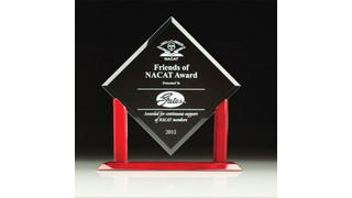 Gates receives award from NACAT