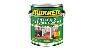 QUIKRETE anti-skid textured coating