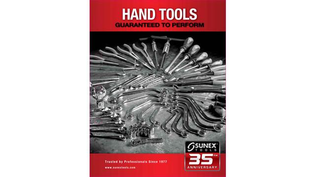 Sunex 2012 Hand Tools Product Catalog
