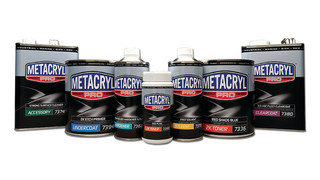Metacryl high performance topcoat system