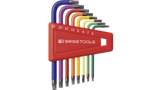Rainbow Torx Key L-Wrenches