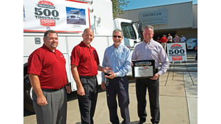 Freightliner Trucks marks production of 500,000th truck
