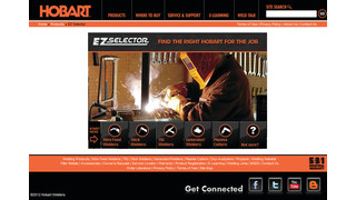 Hobart welding products introduces online product selector