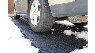 HOTflake heated snow mat