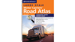 Large scale motor carriers' road atlas 2013 edition