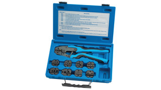 Quick Change Ratcheting Terminal Crimping Kit, No. 18980