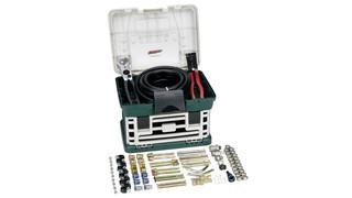 Deluxe transmission / oil cooler line repair kit No. TR555