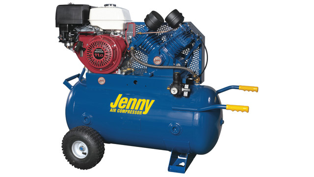Two-stage air compressor, No. W11HGB-30P