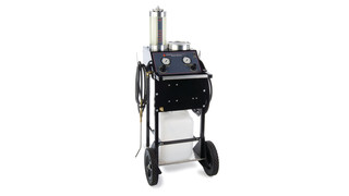 Hybrid brake bleeder machine