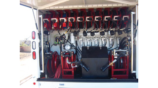 Considerations when equipping a mobile service truck