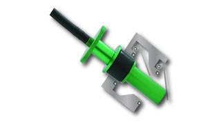 Smoke Wizard Pop-it Capless Double Door Fuel Neck Adapter