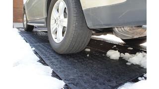 HOTflake heated snow mat