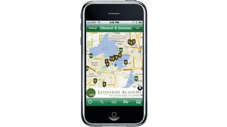 Leonardo Academy develops alternative fuel locator app