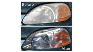 See Brighter Non-Abrasive Headlight Restoration Kit