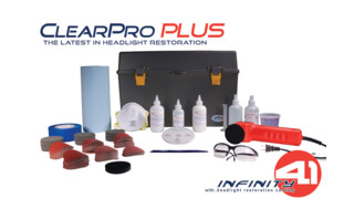 ClearPro PLUS Headlight Restoration System - 120V No. 70055