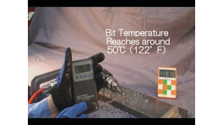 SP Air SP-7520 Compact Composite Drill Video