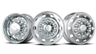 Commercial aluminum rims offer fuel savings