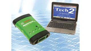 Bosch VCI scan tool capable GM OEM diagnostics