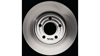 Lifetime brake rotors available for police vehicles